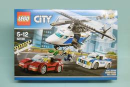 Lego City - LA COURSE-POURSUITE EN HELICOPTERE Police Chase Réf. 60138 Neuf En Boîte - Lego