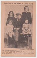 27151 LANHELIN Jean HIGNARD Famille Artisan- Grand Mutilé 1930 Victime Du Travail -photo Ferrand Combourg - France