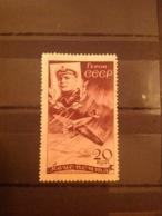 Russia/USSR 1935 Air Chelyuskin Rescue 20k Claret Mint SG 683 Mi 504 - Unused Stamps