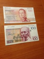 LOT 2 BILLETS  ( Belgique- Luxembourg) - Monnaies & Billets