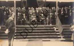 Fotokaart/Carte Photo Koning Albert 1 1933 Envoyé à Perwez- Presbytère (O924) - Other