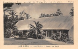 Océanie. Iles  Cook       Rarotonga        Ecole Des Soeurs        (voir Scan) - Cook Islands