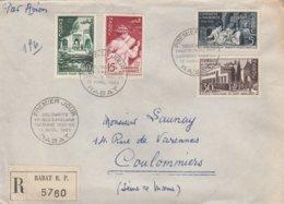 Enveloppe Cachet Premier Jour - Solidarité Franco-marocaine Campagne 1954-55 - Timbres Enseignement - Morocco (1956-...)