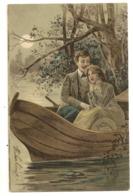 66 - Couple Dans Une Barque - Coppie