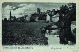 Cpa LUXEMBOURG - HESPERANGE, Moonlight LITHO, BERNHOEFT - Postkaarten