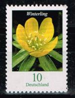 Bund 2017, Michel# 3315 R ** Blumen: Winterling Mit Nr. 185 - BRD