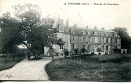 N°76477 -cpa Epineuil -château De Cornançay- - Autres Communes