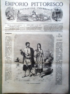 Emporio Pittoresco Del 6 Maggio 1877 Lago Piedilungo Ramiè Esercito Russo Tiflis - Voor 1900