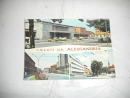 Cartoline A  Tematica Stazione Ferroviarie - Alessandria