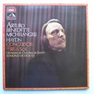 LP/  Haydn - Concertos En Ré & En Sol  / Edmond De Stoutz, Arturo Benedetti Michelangeli - Klassik