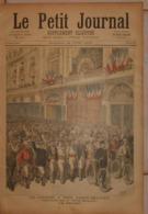 Le Petit Journal. 18 Juin 1892. La Course à Pieds Paris-Belfort. Le Départ. Un Sauveteur De 6 Ans à Valenciennes. - Boeken, Tijdschriften, Stripverhalen