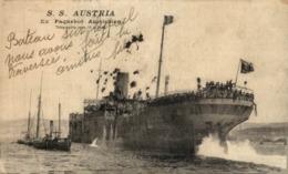 SS AUSTRIA - Paquebots