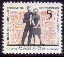 1962 CANADA SG #522 5c MNH Education Year - Neufs