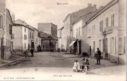 BACCARAT  -  Rue Des Moulins  -  Animation  -  Dos Non Divisé - Baccarat