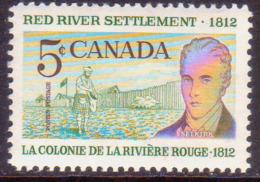1962 CANADA SG #523 5c MNH Red River Settlement - Neufs