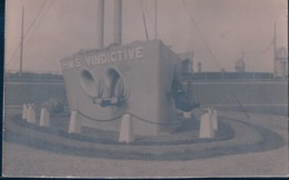 LE BON - PHOTOGRAPHE OSTENDE - H M S VINDICTIVE - MONUMENTO BUQUE DE GUERRA - Fotos