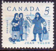 1962 CANADA SG #524 5c MNH Jean Talon Commemoration - Neufs