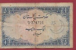 Pakistan 1 Ruppe 1964 PEU COMMUN Dans L 'état - Pakistan