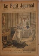 Le Petit Journal. 2 Juillet 1892. Le Drame Des Ternes. Explosion Du  Petrolea Sur La Gironde. - Boeken, Tijdschriften, Stripverhalen
