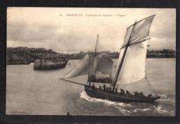 """12. GRANVILLE - Le Bateau De Pêche Le """" Vengeur """" - Granville"""