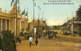 CPA - Belgique - Brussels - Bruxelles - Exposition 1910 - 8 Cartes - Lot 59 - Postcards