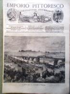 Emporio Pittoresco Del 27 Maggio 1877 Esercito Russo Philadelphia Turchi Confine - Voor 1900