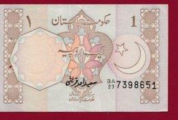 Pakistan 1 Ruppe 1983 (Sign 5) Dans L 'état (190) - Pakistan