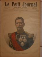 Le Petit Journal. 9 Juillet 1892. Le Général Mellinet, Doyen Des Généraux De France. Le Lieutenant Mizon. - Boeken, Tijdschriften, Stripverhalen