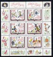 DDR 1985 MiNr. 2987/ 2992  **/ Mnh  Kleinbogen/ Miniature Sheet ; Märchen Der Brüder Grimm - Märchen, Sagen & Legenden