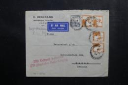 PALESTINE - Enveloppe Commerciale De Jérusalem Pour L 'Allemagne En 1933 Par Avion, Affranchissement Plaisant - L 46485 - Palestine