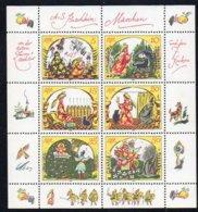 DDR 1984 MiNr. 2914/ 2919  **/ Mnh  Kleinbogen/ Miniature Sheet ; Puschkin-Märchen - Märchen, Sagen & Legenden