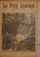 Le Petit Journal. 16 Juillet 1892.Le Bandit Corse Bellacoscia Se Rendant Aux Gendarmes. Mort D'Elisabeth D'Angleterre. - Livres, BD, Revues