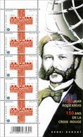 4380** 150ste Verjaardag V/h Internationale Rode Kruis  / Croix-Rouge (Gemeenschappelijke Uitgifte Met Spanje) - Feuillets