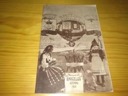 Book, Livro, Revista - Programa, Exposição De Linho E Lã - Setembro De 1931- Barcelos - Boeken, Tijdschriften, Stripverhalen