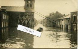 WARCQ.  Carte Photo Inondations - France