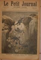Le Petit Journal. 23 Juillet 1892.Terrible Accident Dans Les Alpes. Feu D'artifice Aux Buttes-Chaumont Le 14 Juillet à. - Boeken, Tijdschriften, Stripverhalen