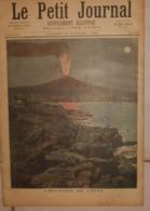 Le Petit Journal. 30 Juillet 1892.L'éruption De L'Etna. Une Vue De Paris. - Boeken, Tijdschriften, Stripverhalen
