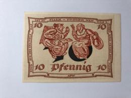 Allemagne Notgeld Arnstadt 10 Pfennig - [ 3] 1918-1933: Weimarrepubliek