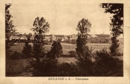 Cpa LUXEMBOURG - REDANGE SUR ATTERT, Panorama, HANSEN - Cartes Postales