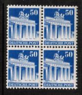 GERMANY  Scott # 652** VF MINT NH BLOCK Of 4 (Stamp Scan # 550) - American/British Zone