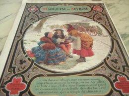 ANCIENNE PUBLICITE ETRENNE DE LA MARQUISE DE SEVIGNE  1929 - Posters