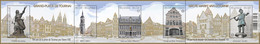Blok 212** Doornik De Grote Markt / Tournai Le Grand Place 4372/76** - Blocs 1962-....