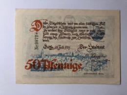 Allemagne Notgeld Gotha 50 Pfennig - [ 3] 1918-1933: Weimarrepubliek