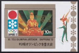 BLOC NEUF DE HONGRIE - JEUX OLYMPIQUES DE SAPPORO N° Y&T 91 - Winter 1972: Sapporo