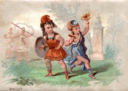 CHROMO  BALLET - Trade Cards