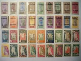 Colonies Françaises- Collection étoffée Du NIGER- 66 TP Majorité ** Et *   LIVRAISON  GRATUITE - Timbres