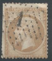 Lot N°51448  N°21, Oblit étoile Chiffrée 1 De PARIS ( Pl De La Bourse) - 1862 Napoleon III