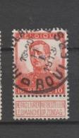 COB 111 Oblitération Centrale ROULERS - ROESELARE D - 1912 Pellens