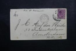 """FRANCE - Oblitération """" Colon à St Nazaire  L.A..N°2 """" En 1894 Sur Enveloppe Pour Les Pays Bas - L 46495 - Poststempel (Briefe)"""