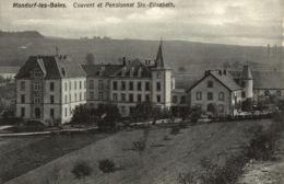 Cpa LUXEMBOURG - MONDORF-LES-BAINS, Couvent Et Pensionnat Ste.-Elisabeth, BELLWALD - Mondorf-les-Bains